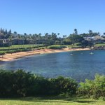 View of Kapalua Beach in the morning