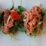Bruchetta with Salmon
