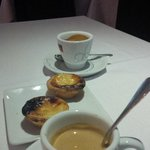 And the coffee still comes with two miniature 'pastéis de nata'!