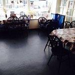 New Flooring as you enter Cafe