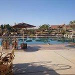 Restaurant terrace and main pool