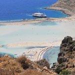 La beauté de la plage de Balos