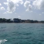 View from Dive House Boat