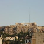 Acropolis from the room