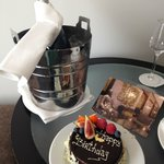 Birthday surprise for the hotel staff