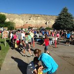The Bryce canyon half marathon