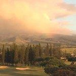 rainbow over Kapalua