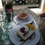 Cakes from The Brown Bear Cafe