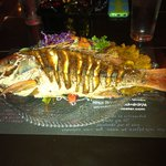 Red snapper: Fish of the Day.  Delicious!