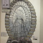 Mr. Ferris from Carson Valley invented the Ferris Wheel - Genoa Courthouse Museum, Genoa, NV