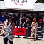 Saratoga Styles at the track