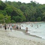 Playa del parque nacional