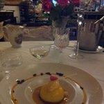 Et le dessert accompagné d'une coupette offerte..