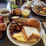 Le petit déjeuner (une TUERIE) !!!!