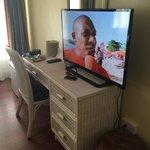 La chambre (Tv HD et prise USB)