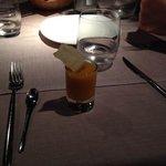 crema di carota allo zenzero