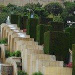 Fountain on the way to Placa Espanya (with Rainnbow Barcelona Tours)