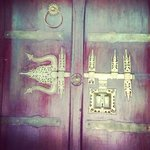 The latch of our villa