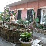 Nice courtyard!