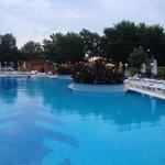 Big pool at hotel zefir
