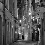 Abendstimmung in Nizzas Altstadtgassen! Einfach nur zum wohlfühlen.