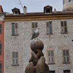 Der Chef des kleinen Fischmarktes in der Altstadt! ;-)