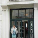 Main entrance, all Art Deco