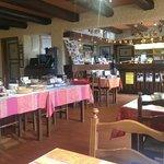 La salle à manger et la réception
