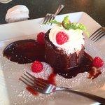 Dessert- chocolate soufflé
