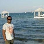 The beach at puri santrian