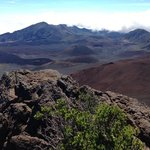 there are three cabins to stay on the crater floor! From volcanic views to granite floor abd out