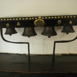 Authentic Packhorse Bells in the bar