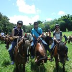 "Horseback riding in El Yunque on ""Robin,"" ""Beach Boy,"" and ""Turbine"""