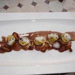Tortellinis au foie gras (sublime)