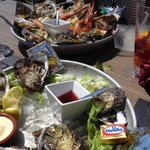 Plateaux de fruits de mer bien frais