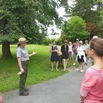 A park service guide brings you through the residence