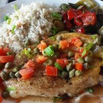 grilled fish (local one)