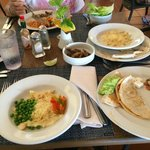 Mariachi Buffet food