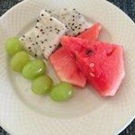 fresh fruit from buffet