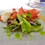 Salade met ham van Teruel