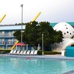 Piscina do Disney's All-Star Sports Resort