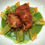 Ris (Sweetbreads) with Gnocchi and Girolles