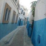 esas tipicas callecitas a Rabat