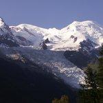 Vue de la Chambre (chambre Club vue vallée, bâtiment Mont Blanc)