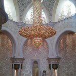 MEZQUITA ABU DHABI-LAMPARA DE SWAROVSKI