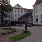 Behind de main building looking from garden