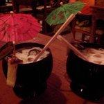 Servidas na quenga de coco