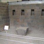 altar para los sacrificios humanos incas
