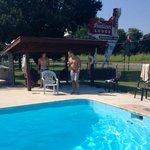 Indian Lodge pool area