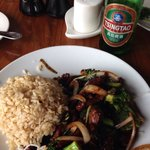 Mongolian Beef was delicious!